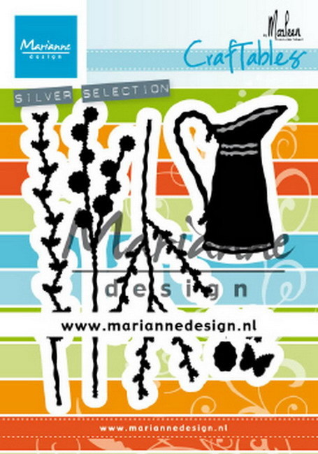 Craftables Marianne Design - bloemenkan By Marleen