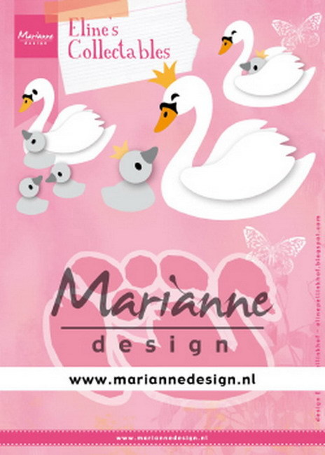 Collectables Marianne Design - Eline's Zwaan
