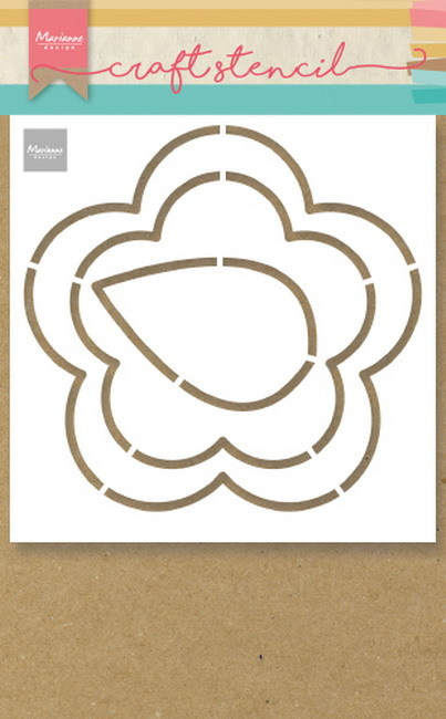 Marianne Design Craft Stencil - buttercup