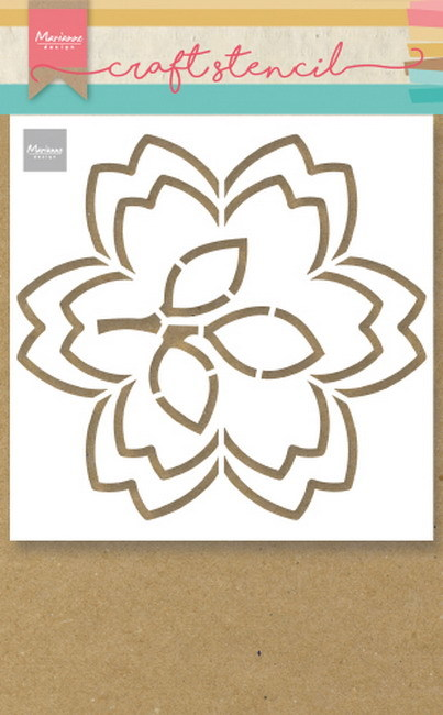 Marianne Design Craft Stencil - blossom