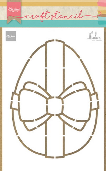 Marianne Design Craft Stencil - easter egg