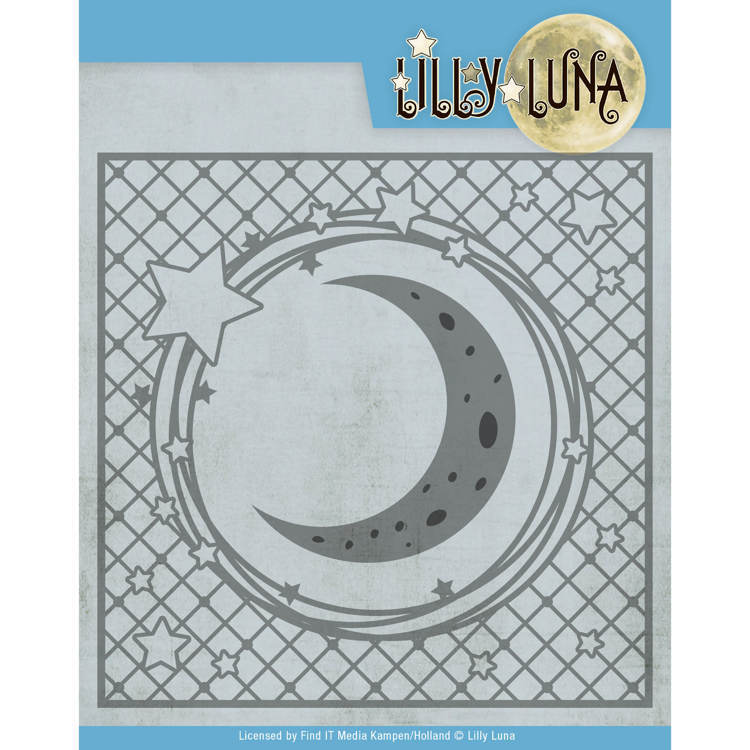 Yvonne Creations Stans - Lilly Luna - stars and moon frame