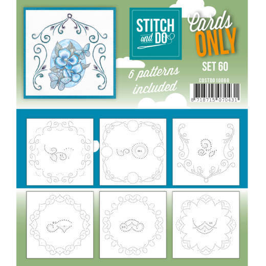 Stitch and Do Cards Only - set 60