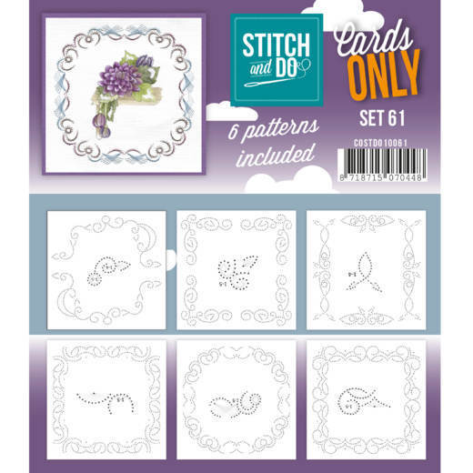 Stitch and Do Cards Only - set 61