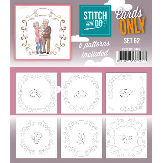 Stitch and Do Cards Only - set 62