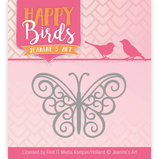 Jeanine's Art Stans - Happy Birds - vlinder