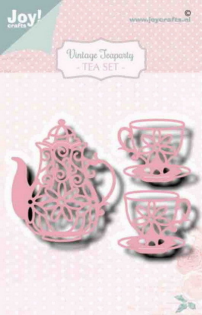 Joy Stans - Vintage Tea Party - tea set