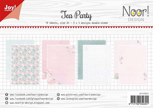 Joy Paper Pack - Tea Party