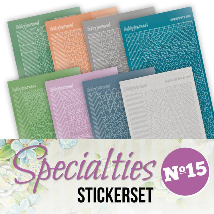 Stickerset bij Specialties No. 15