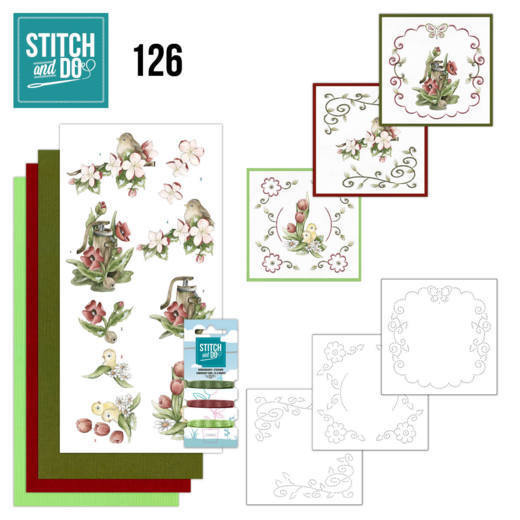 Stitch and Do Pakket 126 - spring delight