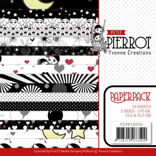 Paper Pack Yvonne Creations - Petit Pierrot