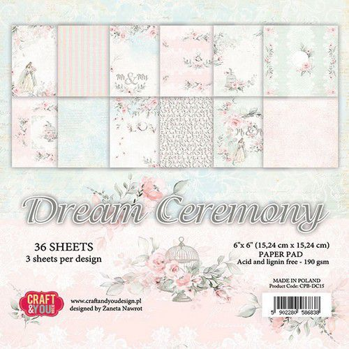 Paper Pad Craft & You - Dream Ceremony (6 x 6 inch)