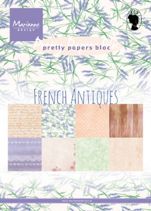 Pretty Papers Bloc - French Antiques