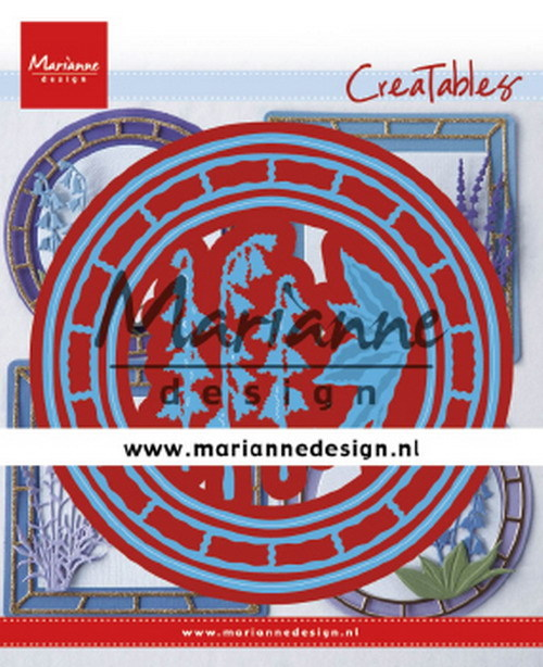 Creatables Marianne Design - Blue Bell circle