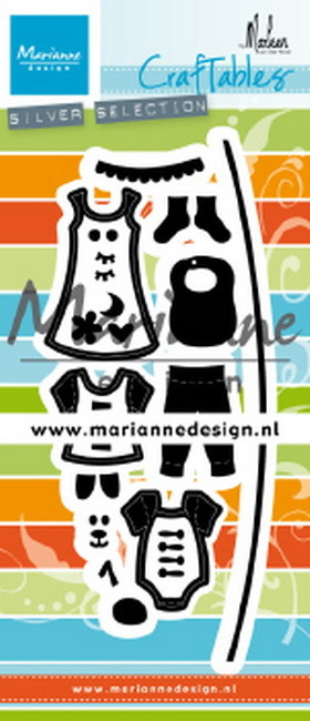 Craftables Marianne Design - By Marleen - waslijntje