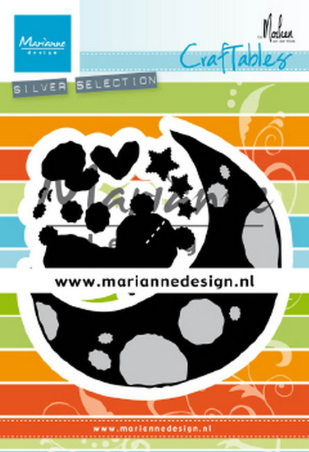 Craftables Marianne Design - By Marleen - dreaming bear