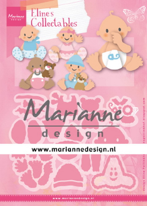 Collectables Marianne Design - Eline's Baby's
