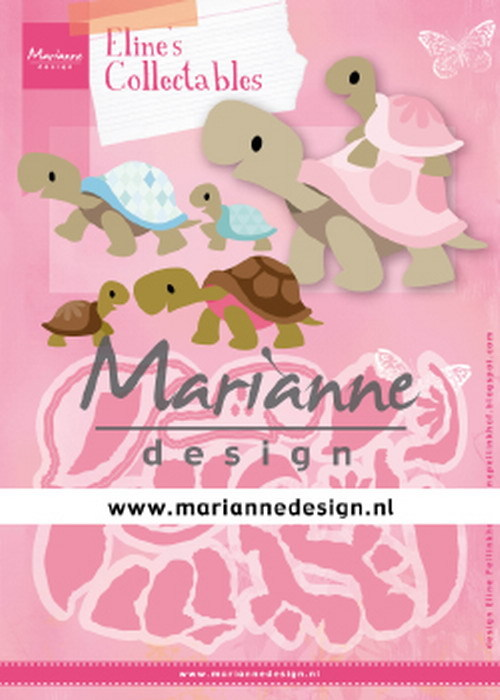 Collectables Marianne Design - Eline's Schildpadden