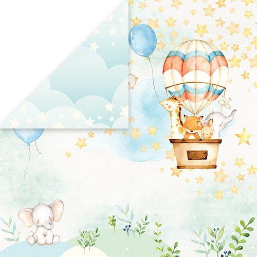 Scrappapier Craft & You - Baby Adventure 01