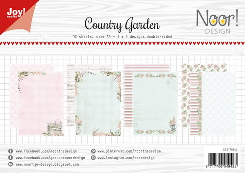 Joy Paper Pack - Country Garden