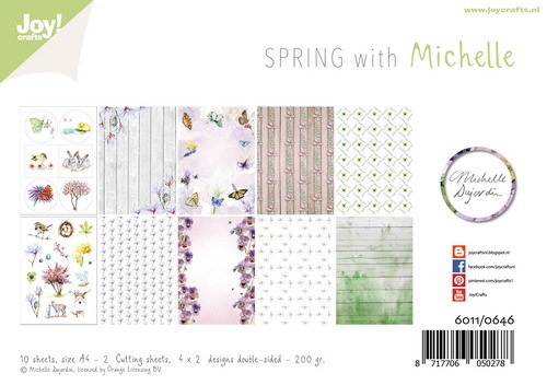 Joy Paper Pack - Spring with Michelle