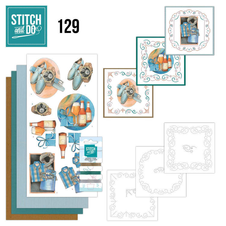 Stitch and Do Pakket 129 - gifts for men