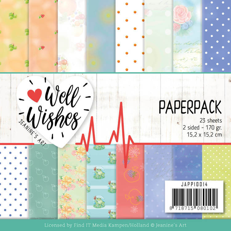 Paper Pack Jeanine's Art - Well Wishes