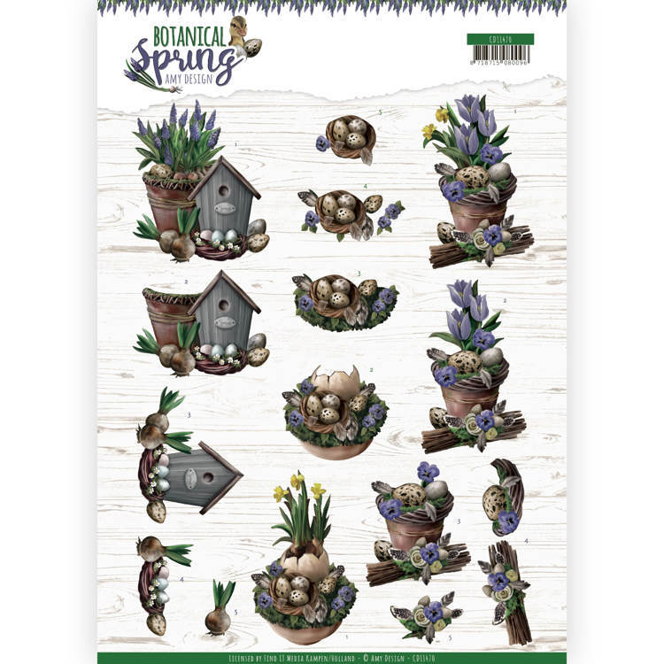 Knipvel Amy Design - Botanical Spring CD11470