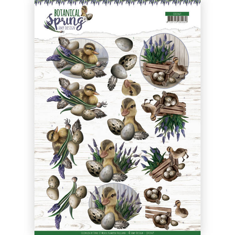 Knipvel Amy Design - Botanical Spring CD11469