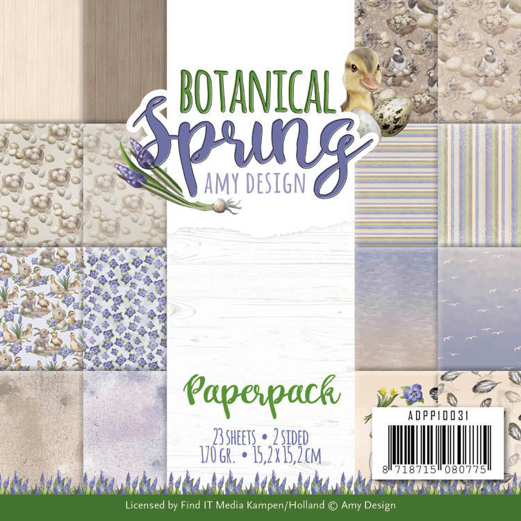 Paper Pad Amy Design - Botanical Spring