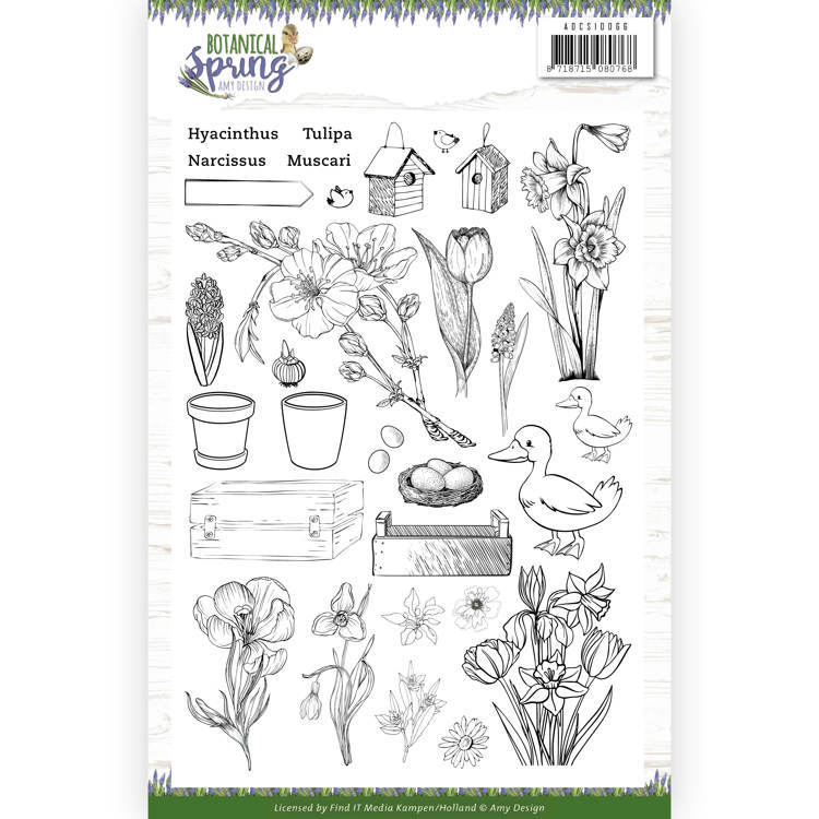 Clearstamps Amy Design - Botanical Spring