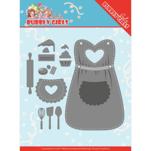 Yvonne Creations Stans - Bubbly Girls - party apron