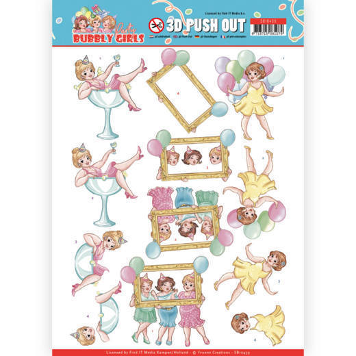 Stansvel Yvonne Creations - Bubbly Girls Party SB10439
