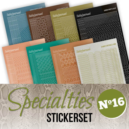 Stickerset bij Specialties 16