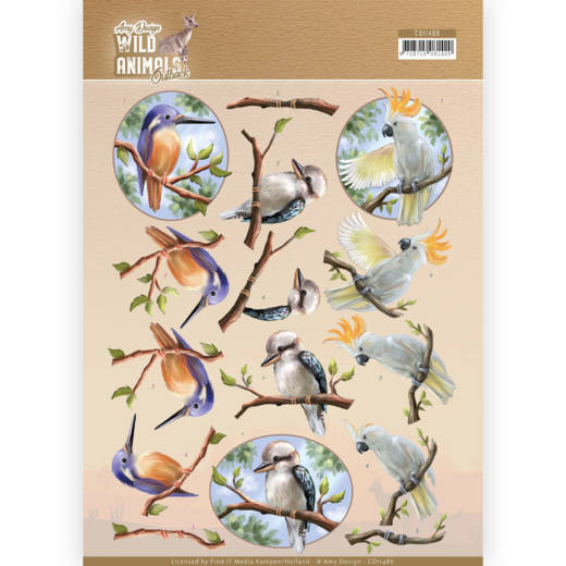 Knipvel Amy Design - Wild Animals Outback CD11486