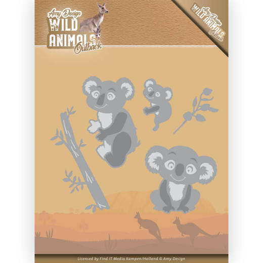 Amy Design Stans - Wild Animals Outback - koala