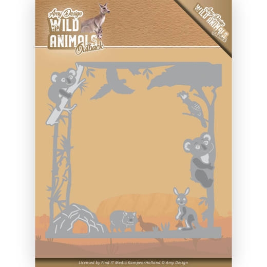 Amy Design Stans - Wild Animals Outback - koala frame