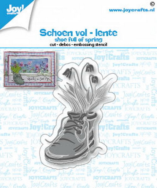 Joy Stans - schoen vol lente