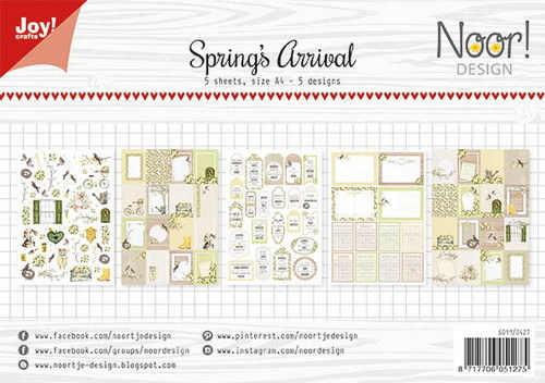Joy Label Sheets - Spring's Arrival