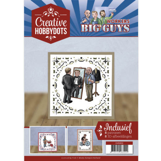 Creative Hobbydots 2 - Yvonne Creations - Big Guys Workers