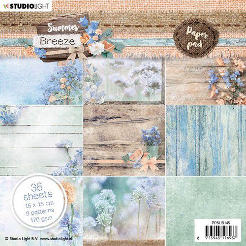 Paper Pad Studio Light - Summer Breeze 145