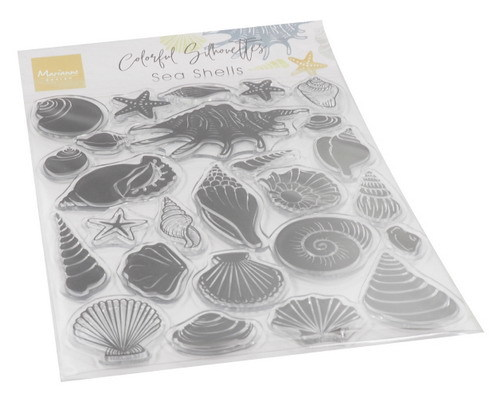 Clearstamps Marianne Design - Colorful Silhouettes - sea shells