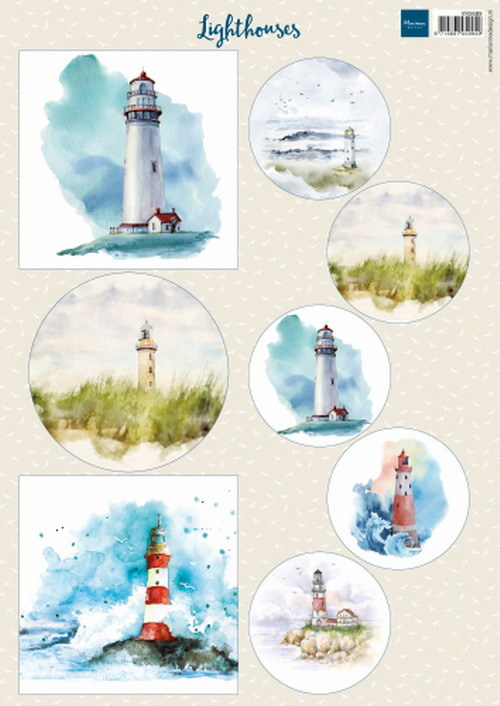 Knipvel Marianne Design - lighthouses