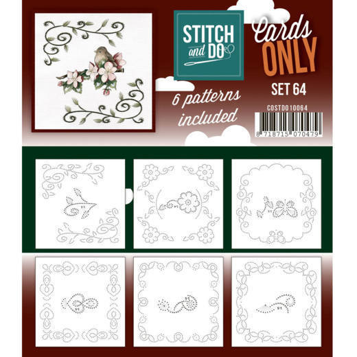 Stitch and Do Cards Only - set 64