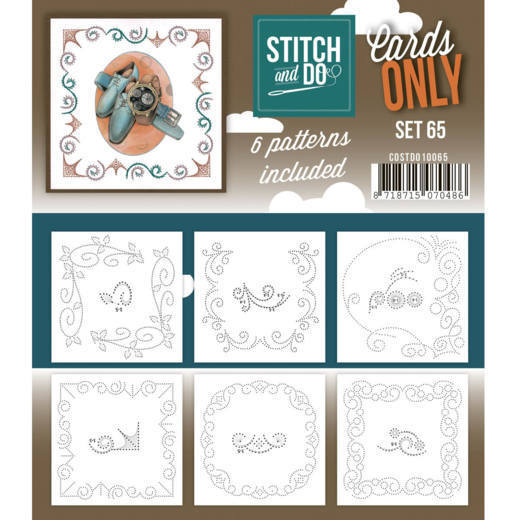 Stitch and Do Cards Only - set 65