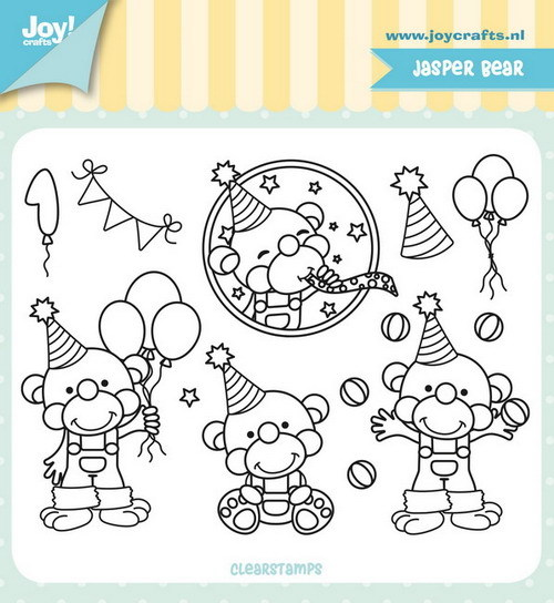 Joy Clearstamps - Jocelijne - Jasper bear