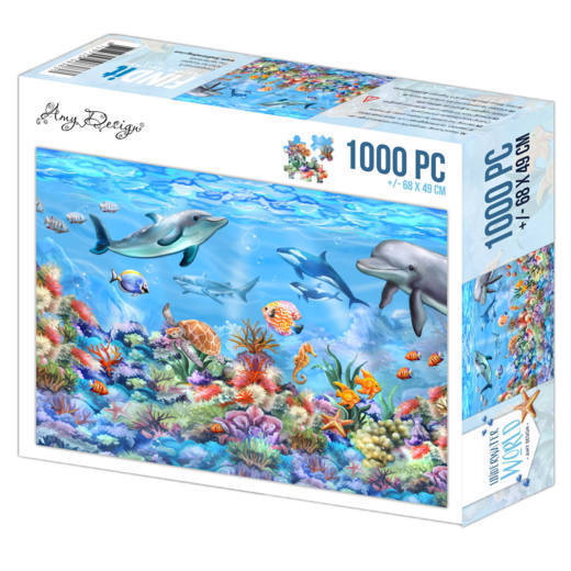 Puzzel Amy Design - underwater world