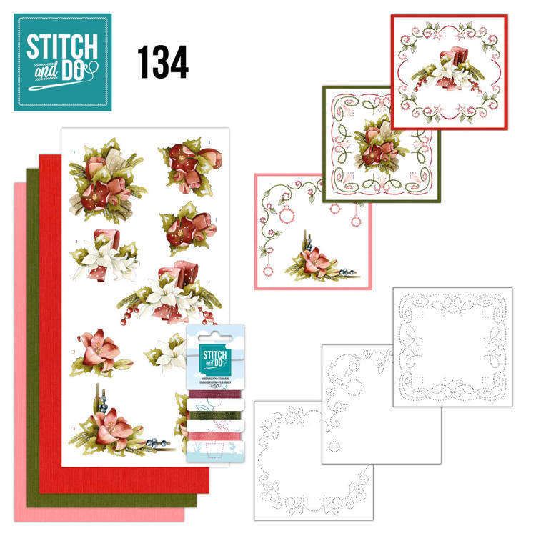 Stitch and Do Pakket 134 - touch of christmas