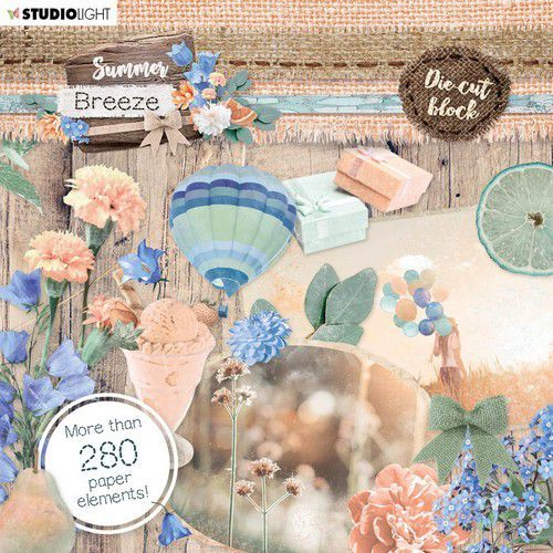Studio Light Die Cut Block - Summer Breeze