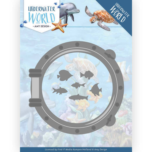 Amy Design Stans - Underwater World - porthole